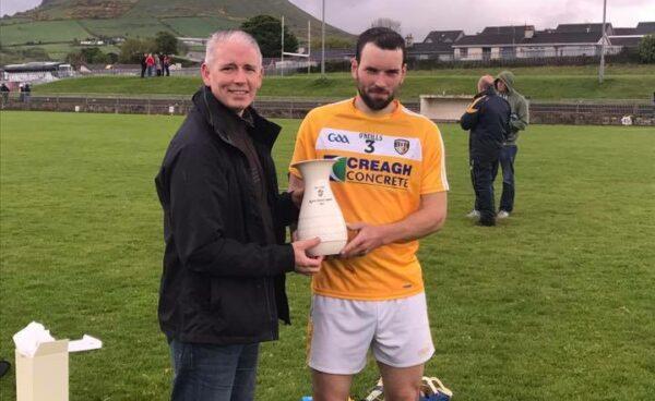 Ulster GAA Writers Award - John Dillon - Congratulations