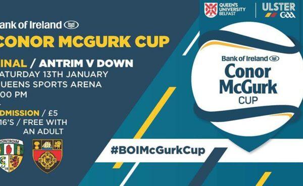 Conor McGurk Cup Final
