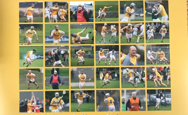 FREE A3 GLOSSY ANTRIM HURLING POSTER