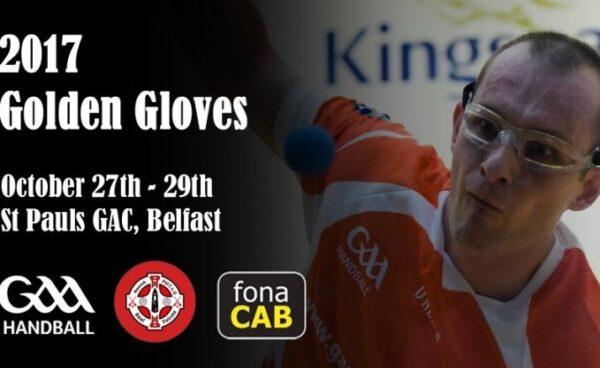 The Fonacab Golden Gloves GAA Handball