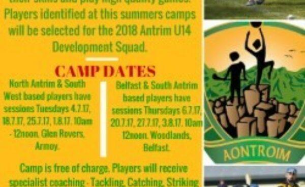 Talent ID Hurling summer camps