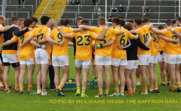 Fourteen man Antrim fade as Sligo prosper in All Ireland qualifiers
