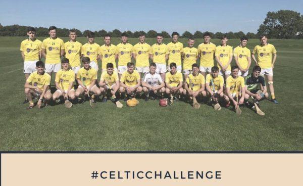 Celtic Challenge final :Good Luck Message