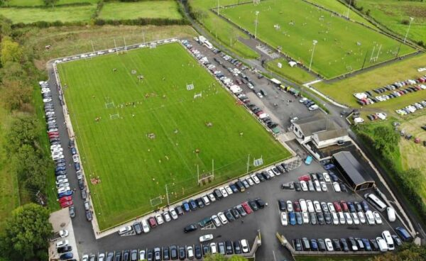 Parking arrangements for Sunday's game in Portglenone