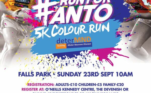 Launch event for the Anto Finnegan 5K Colour Run