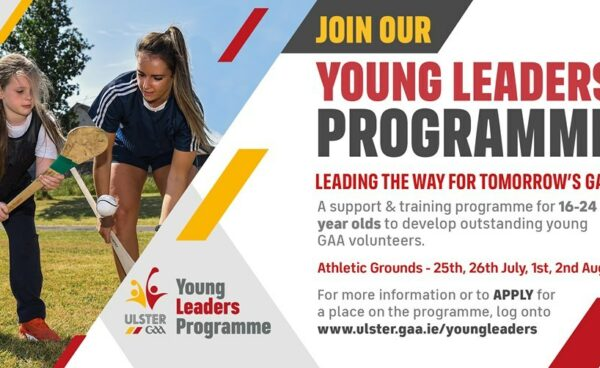 Ulster GAA's exciting and innovative Young Leaders Programme