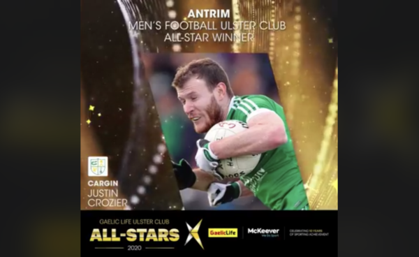 Gaelic Life Antrim All-Star Winners 2020