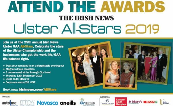 Irish News All-Star Awards Night 2019