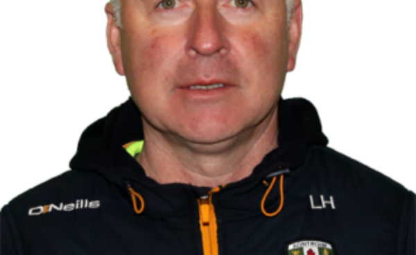 Lenny Harbinson - Antrim Senior Football Manager.