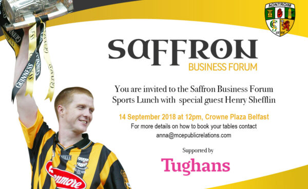 Saffron Business Forum Lunch Tables Now On Sale