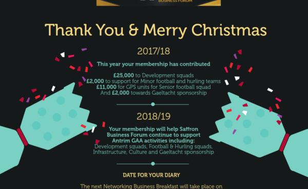 Saffron Business Forum Christmas Message