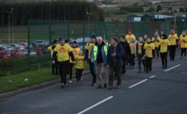 Appealing  for Gaels to support Darkness into Light Hannahstown 2019 walk.