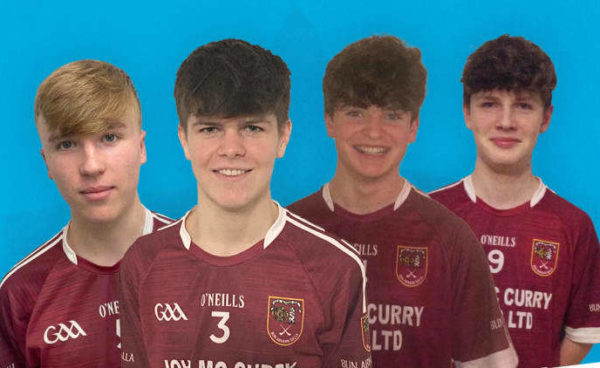 Cushendall Heros Secure GAA Minor Special Recognition Awards 2020