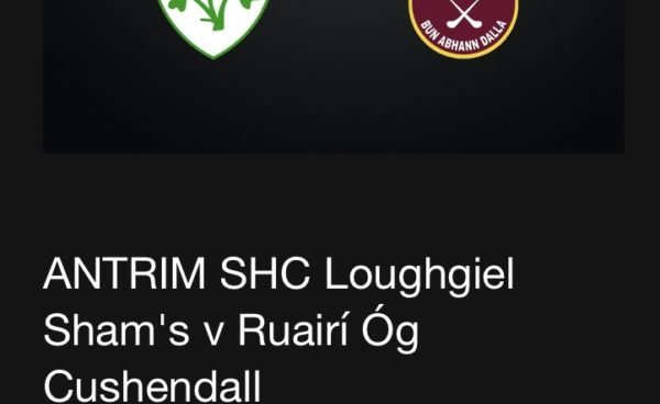 Live Streaming - Get your ticket! Loughgiel V Ruairí Óg