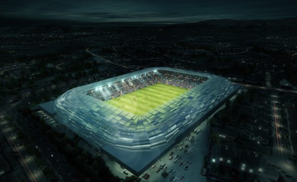 Ulster GAA fans view Casement Park fly-through video