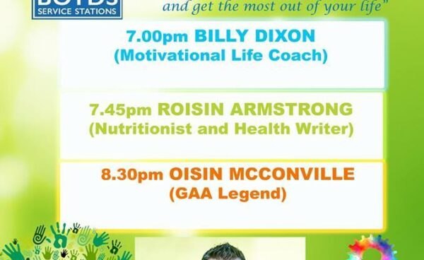 Antrim Health & Wellbeing Committee congratulate St Ergnats GAC