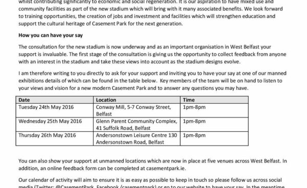 Casement Park Consultation events this week with the Ulster GAA on hand to hear your views/vision