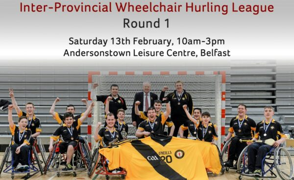 Inter provincial Wheelchair Hurling - Round 1