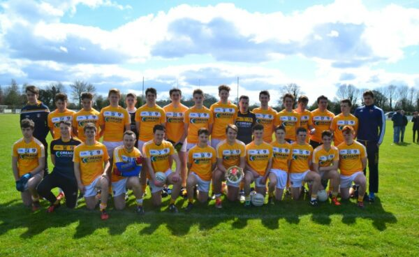 Antrim minor footballers Win League Shield Final with victory over Derry